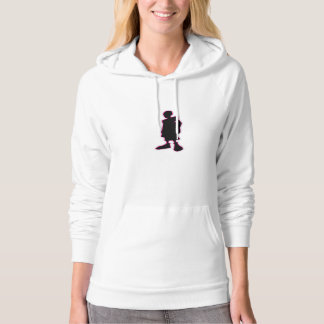 City Of Hoops: COH Guy/ Front And Back Hoodie