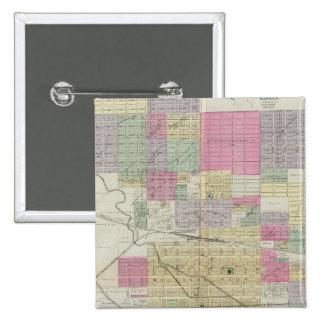 City of Hutchinson, Reno County, Kansas Button