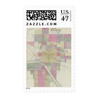 City of Hutchinson, Reno County, Kansas Postage
