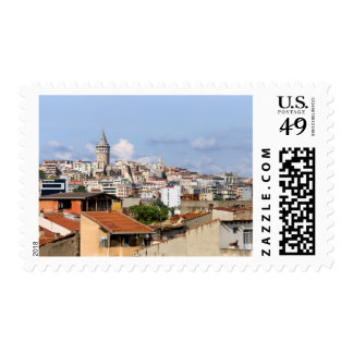 City of Istanbul Cityscape Stamps