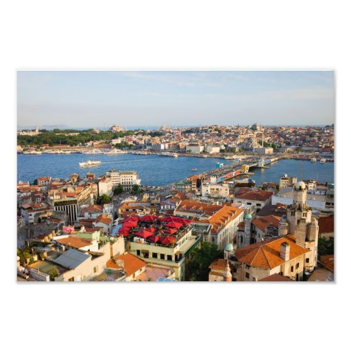 City of Istanbul in Turkey Photographic Print