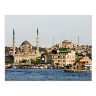 City of Istanbul Skyline Postcard