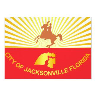 City of Jacksonville flag Card