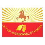 City of Jacksonville flag Custom Announcement