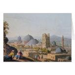 City of Jerusalem, 1812 Greeting Card