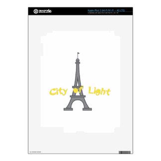 City Of Light iPad 3 Decals
