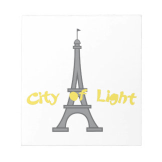 City Of Light Notepad