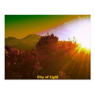City of Light Postcard