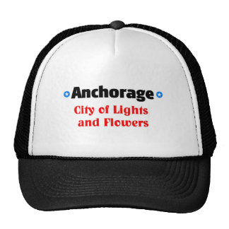 City of lights and flowers mesh hats
