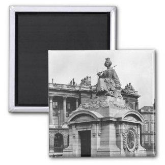 City of Lille, 1838 Fridge Magnets