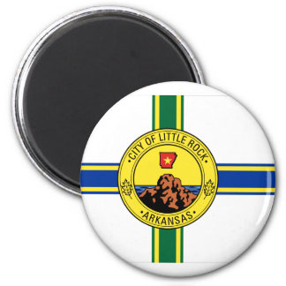City of Little Rock 2 Inch Round Magnet