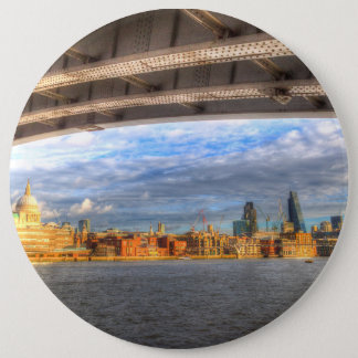 City of London and River Thames Button