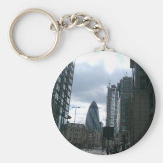 City of London Buildings Keychain