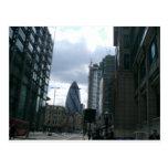 City of London Buildings Postcard