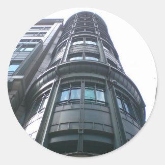 City of London Buildings Round Sticker