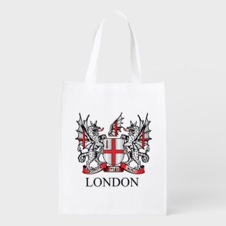 City of London coat of arms Grocery Bag