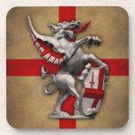 City of London Dragon Cork Coaster