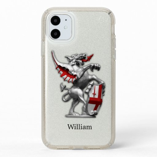 City of London Dragon Personalized Speck iPhone 11 Case