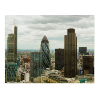 City of London England seen from City Point Postcard