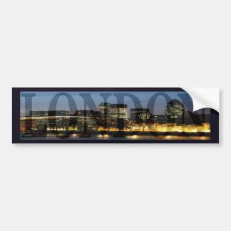 City Of London Skyline Bumper Sticker Car Bumper Sticker