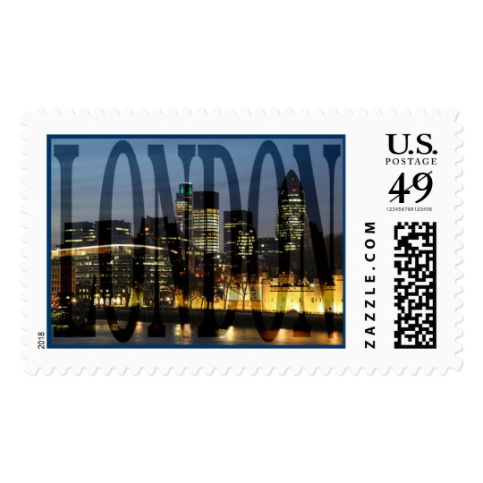City Of London Skyline Postage Stamps