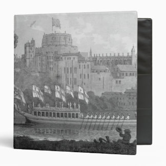City of London State Barge 3 Ring Binder