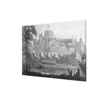 City of London State Barge Canvas Print