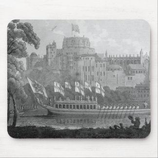 City of London State Barge Mouse Pad