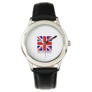 City of London - Union Jack Flag Wrist Watch