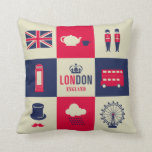 City Of London United Kingdom England Pillow