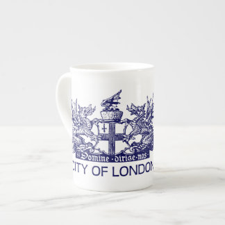 City of London, Vintage, Coat of Arms, England UK Tea Cup