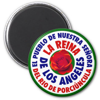 City of Los Angeles 2 Inch Round Magnet