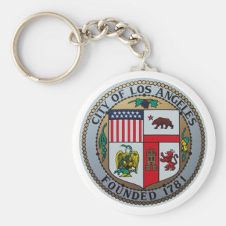 City of Los Angeles Key Chain