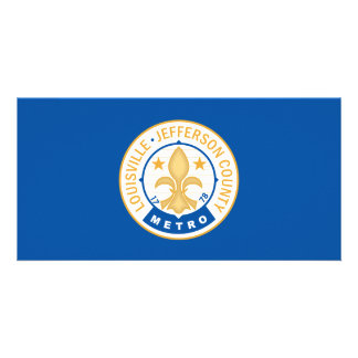 City of Louisville flag Card