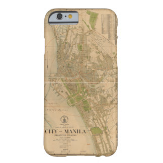 City of Manila Philippine Islands Map (1920) Barely There iPhone 6 Case