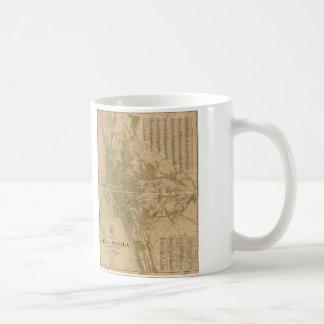City of Manila Philippine Islands Map (1920) Coffee Mug