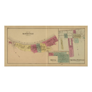 City of Maysville with Chester and Woodville Posters
