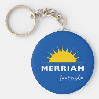 City of Merriam Keychain