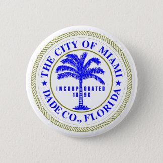 City of Miami Logo Button
