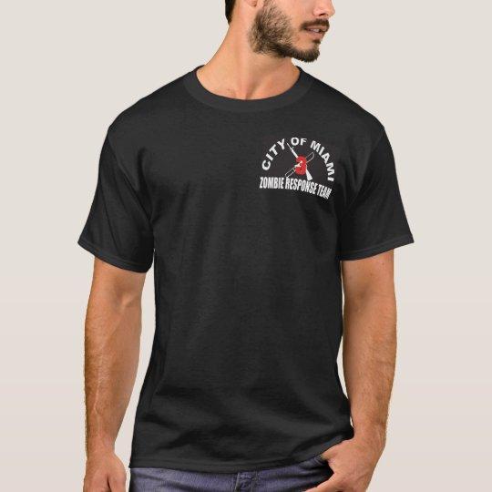 City Of Miami Zombie Response Team T-Shirt