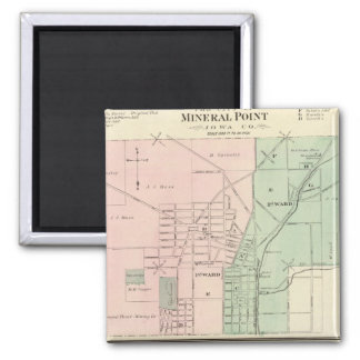 City of Mineral Point and Village of Dodgeville Refrigerator Magnet