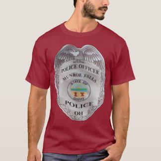 City of Monroe Falls Ohio Police Department Shirt. T-Shirt