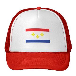 City of New Orleans flag Trucker Hats
