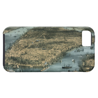 City of New York in 1856 by Charles Parsons iPhone 5 Cover
