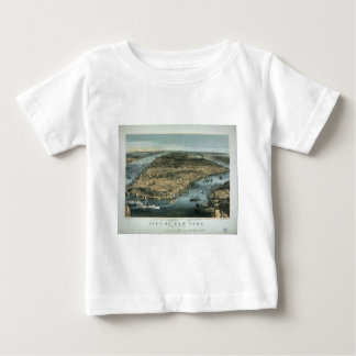 City of New York in 1856 by Charles Parsons T Shirt