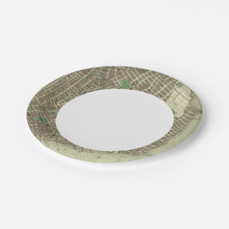 City Of New York Paper Plate