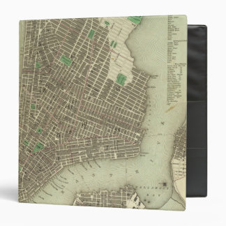 City Of New York Vinyl Binder