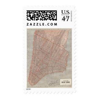 City of NY Atlas Map Postage