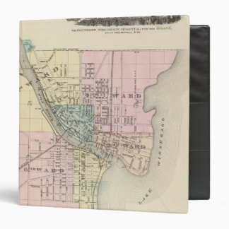 City of Oshkosh, county seat of Winnebago Co Vinyl Binders