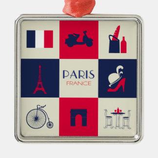 City Of Paris Christmas Tree Ornament
